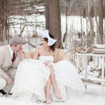 To Plan a Winter Wedding