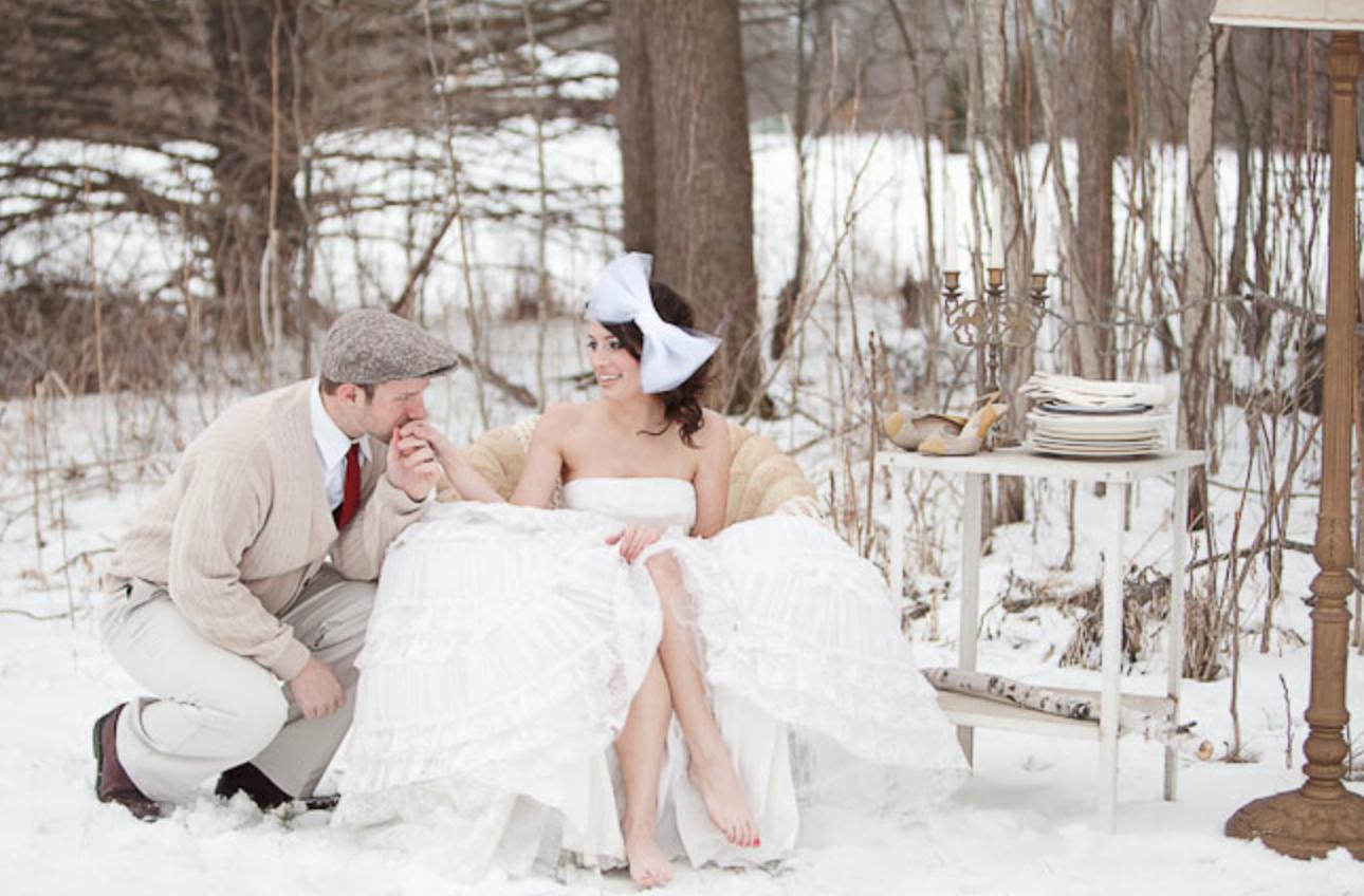 To Plan a Winter Wedding - A Lavish Affair