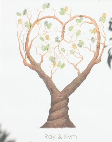 Finger Print Tree 2