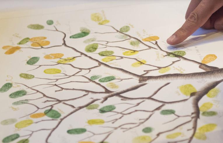 Finger Print Tree 1
