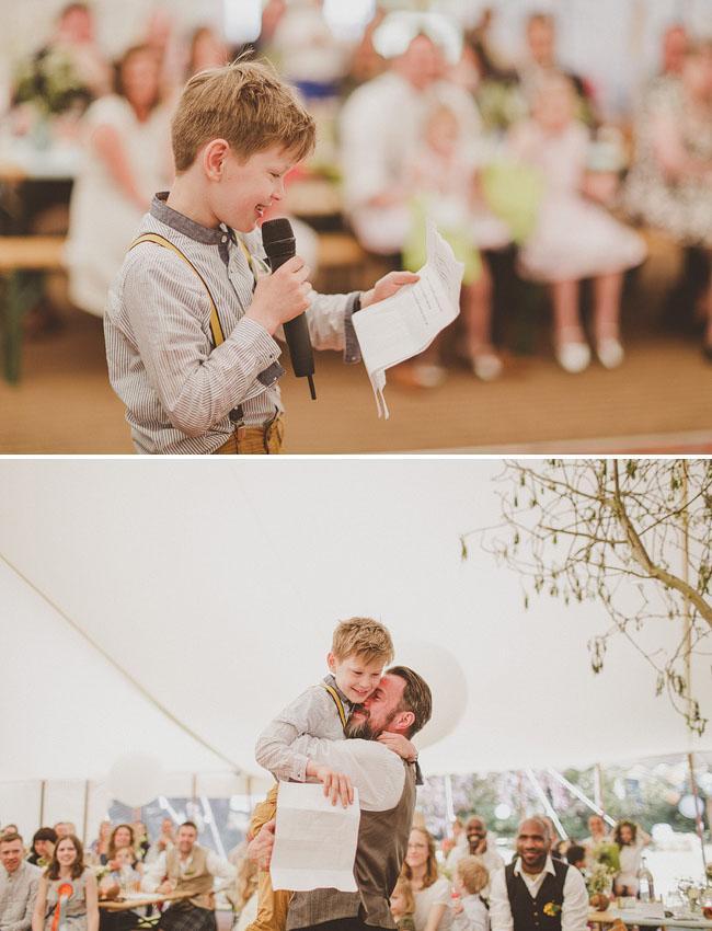 Children say Vows