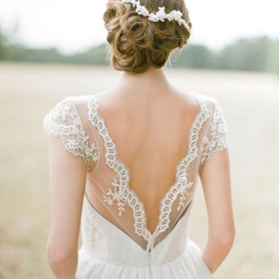 The back of that Wedding Dress!