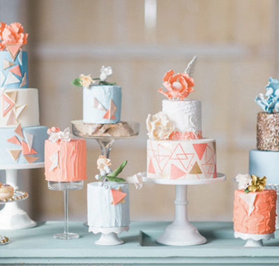 Bridal Shower Cake Table Inspiration