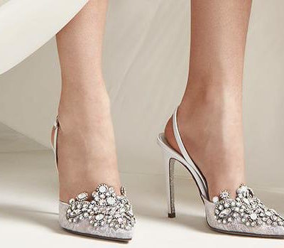 Beautifully Embellished Bridal Shoes