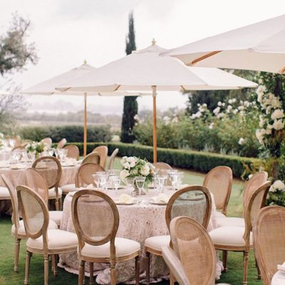 Garden Wedding, Plan For The Weather