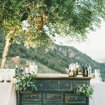 Wedding Bar Decor