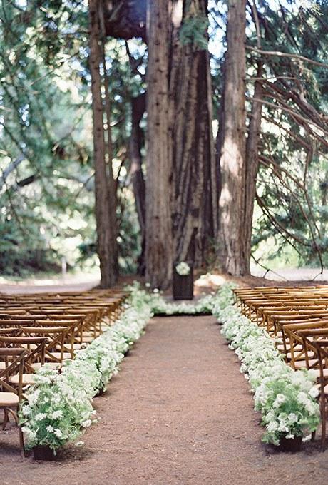 Wedding Aisle Decor - A Lavish Affair