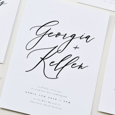 Simple Wedding Invites That Will Wow